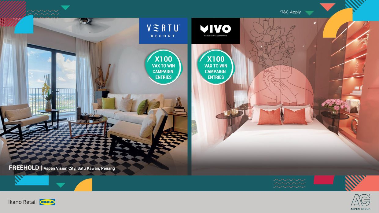 Among the amazing prize that you stand to win include the grand prize of one Vertu Resort unit, or Vivo Executive Apartment units for 1st to 3rd prize winners.