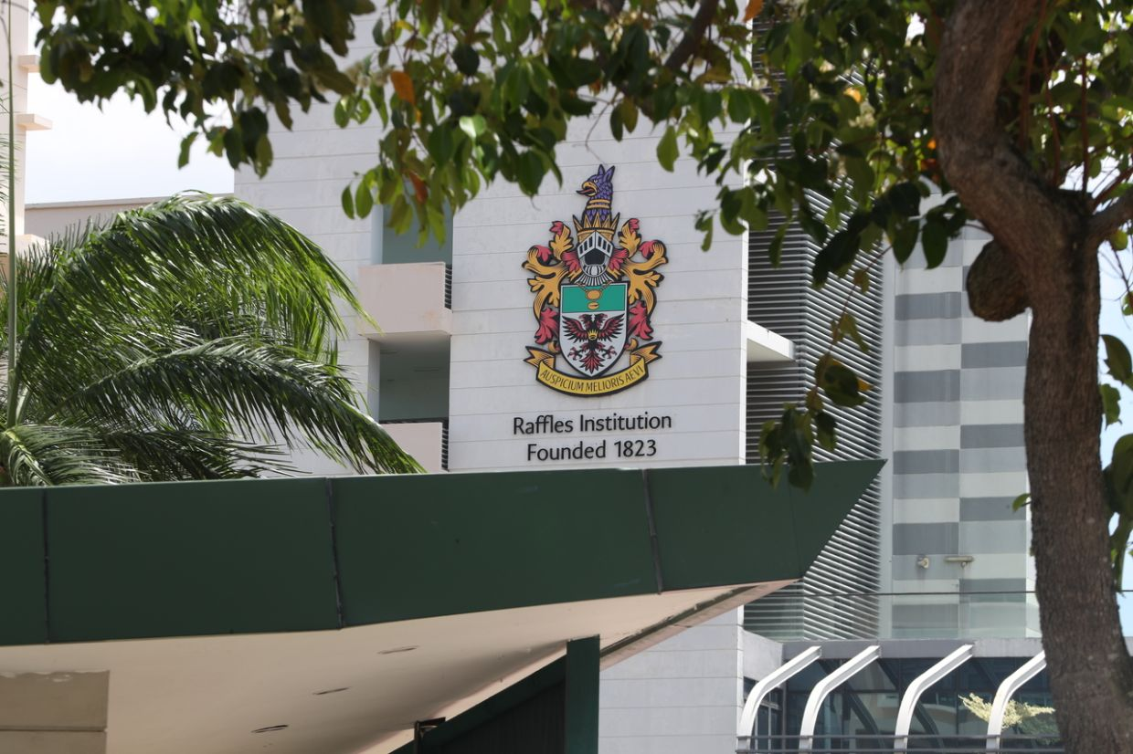 RI was founded by the British colonialist Stamford Raffles in 1823. The school's modern-day iteration comprises a boys-only high school and a co-educational junior college section. - The Straits Times/ANN