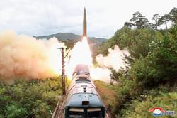 N. Korea missile tests were new 'railway-borne system'