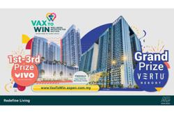 Get vaccinated and win big with Aspen Group's Vax to Win Campaign