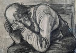 'Worn Out' - Dutch museum finds rare Van Gogh drawing of tired old man