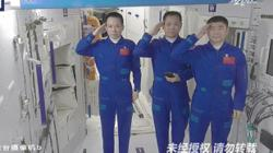 Chinese astronauts preparing to return to earth after three-month mission on Tiangong space station