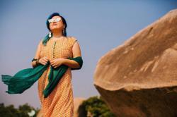 Style Watch: Malaysian artiste Foo Bihzhu is fashionably larger than life