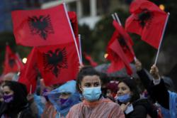 Albania votes in its first female dominated government