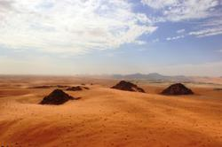 Once green, prehistoric Arabia drew early humans from Africa