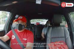 Nazir Razak 'moonlights' as e-hailing driver for a day