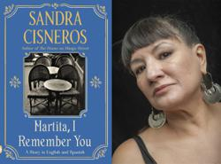 In American author Sandra Cisneros' new book, an overdue letter to a friend