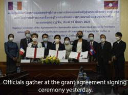 French agency renews support for sustainable development in northern Laos