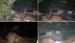 28 evacuated after landslide at Kemensah Heights