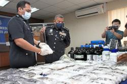 Drug lab busted before it could start operations