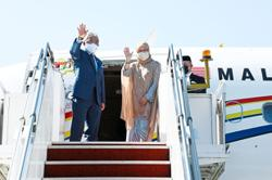 King, Queen on special visit