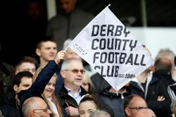 Soccer-Derby set for administration amid financial uncertainty