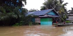 Floods inundate hundreds of houses in Indonesia's Gorontalo province