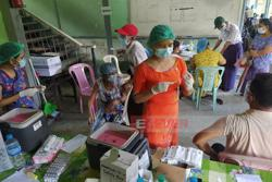 Covid-19 vaccination begins in Yangon region for the 55-64 age bracket