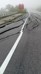 Road leading to Camerons via Simpang Pulai closed after part of hillslope collapses