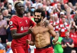 Soccer-Ton up for Mane as Liverpool sink Palace 3-0