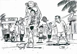 'I Am Home' virtual exhibit in Penang guided by oral history, sketch art