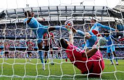 Soccer-Man City held to frustrating draw by Southampton despite VAR reprieve