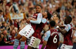 Soccer-Now I feel like a Villa player, says Bailey after sparkling cameo