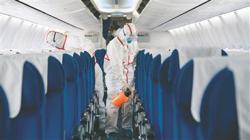 China stresses aircraft disinfection to prevent Covid-19 case import