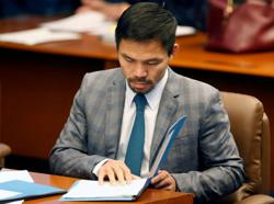 Boxer Manny Pacquiao nominated as presidential candidate for Philippines 2022 election