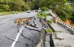 Cracks on Simpang Pulai-Cameron Highlands road could get worse if rains continue, says Perak MB