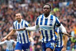Soccer-High-flying Brighton earn 2-1 victory over Leicester
