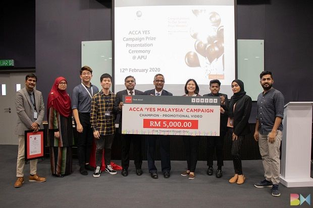 ACCA Power of Ethics Competition, SAS National FinTech Challenge and Malaysian Financial Planner Award are among the awards won by APU's accounting and finance students.