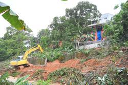 'No updates on homes after landslide'