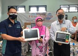 Kulai hospital benefits from NGOs, public generosity