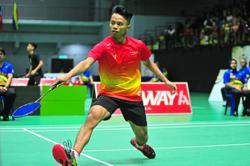Aidil out to show that he's the real deal