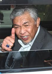 Zahid: Barisan to contest seats won in GE14 but 'lost' when MPs switched parties