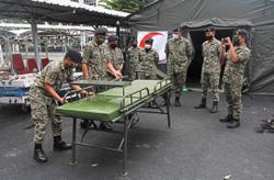 Field hospital in Penang operational soon