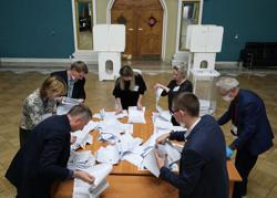 Russia's ruling pro-Putin party wins parliamentary vote - early results/exit poll