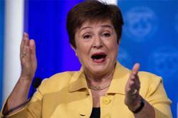IMF chief denies pro-China pressure on World Bank report
