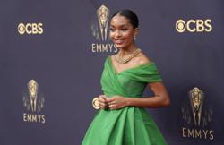 Bright colours and bold choices reign on the Emmys red carpet