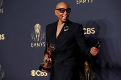 TV host RuPaul breaks record for the most Emmy wins by a person of colour