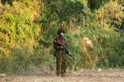 Myanmar military convoy hit by roadside bomb near Yangon, says junta