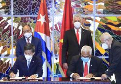 Vietnam and Cuba seek to bolster all-round ties - Viet President issues resolution on buying 10 million doses of Cuba's vaccine