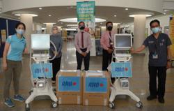 RHB contributes ICU ventilators to two Covid-19 hospitals