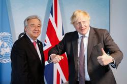 'Alarm bell': U.N. chief, UK PM convene leaders on climate change