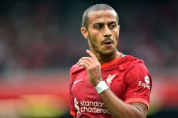 Liverpool's Thiago to miss next two games with calf injury