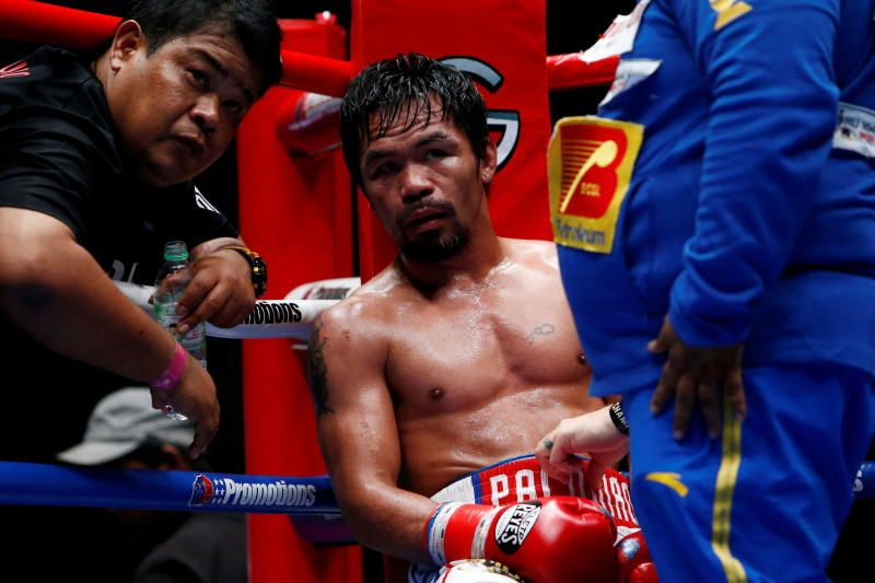 Philippine boxing icon and senator Manny Pacquiao says he will run for president in the 2022 elections. - Reuters