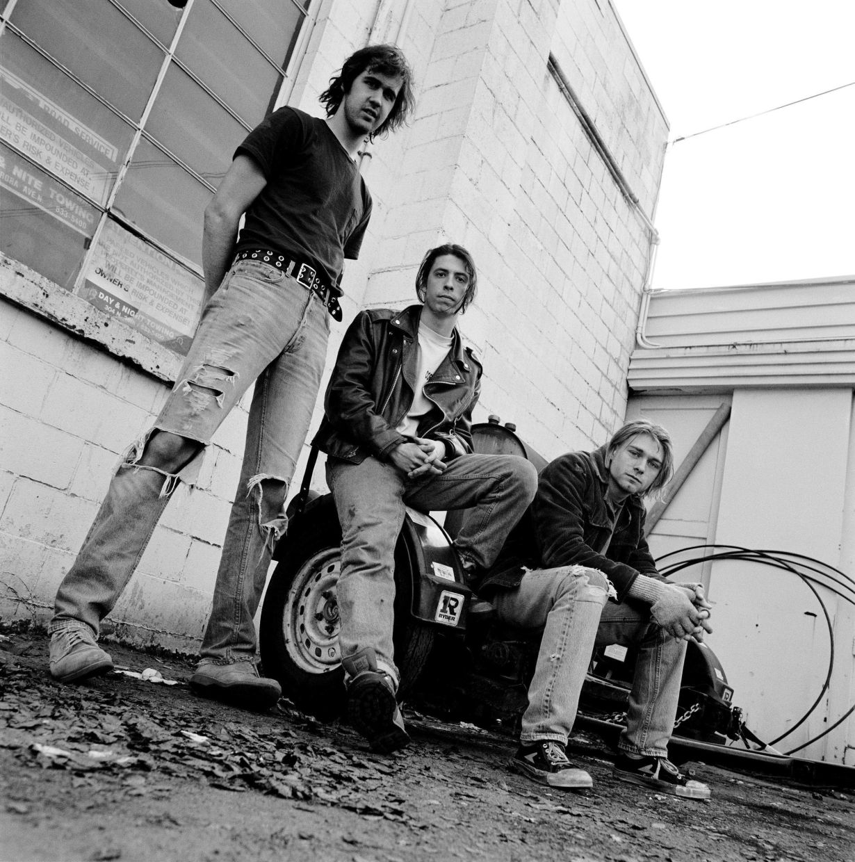Nirvana (from left) bassist Krist Novoselic, drummer Dave Grohl and  singer- songwriter, guitarist Kurt Cobainl. Nirvana's Nevermind, considered one of the greatest albums of the 1990s, turns 30 on Sept 24. Photo: Filepic