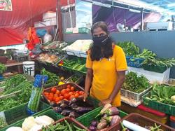 Vegetable prices soar due to wet season