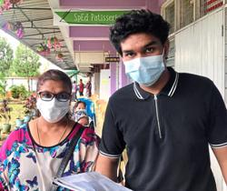 Students happy, relieved to be vaccinated