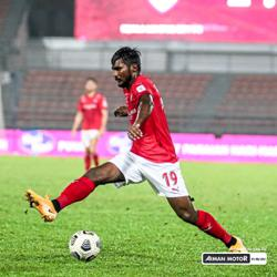 Partiban finds wind beneath his wings in KL