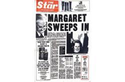 Flashback #Star50: Margaret sweeps in