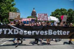 Texas startups mount fight against abortion ban-without big tech