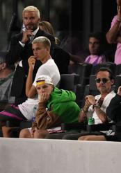 Soccer-Beckham's son Romeo makes pro debut for Inter Miami's reserve team